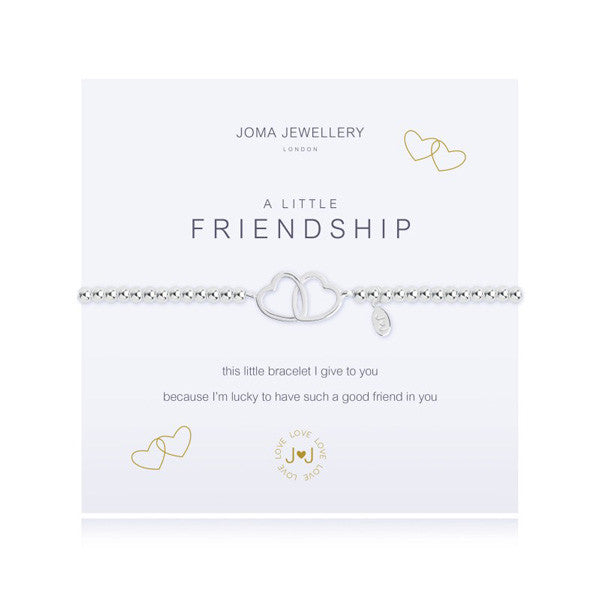 Joma Jewellery a little Friendship Linked Bracelet