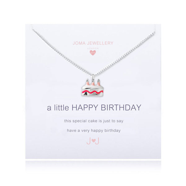 Joma Jewellery a little Happy Birthday Necklace - Girls