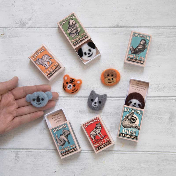 Marvling Bros Spirit Animals In A Matchbox