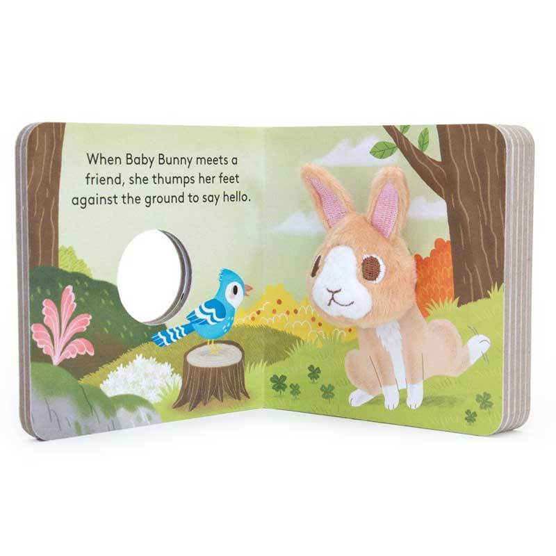 Baby Bunny Finger Puppet Book