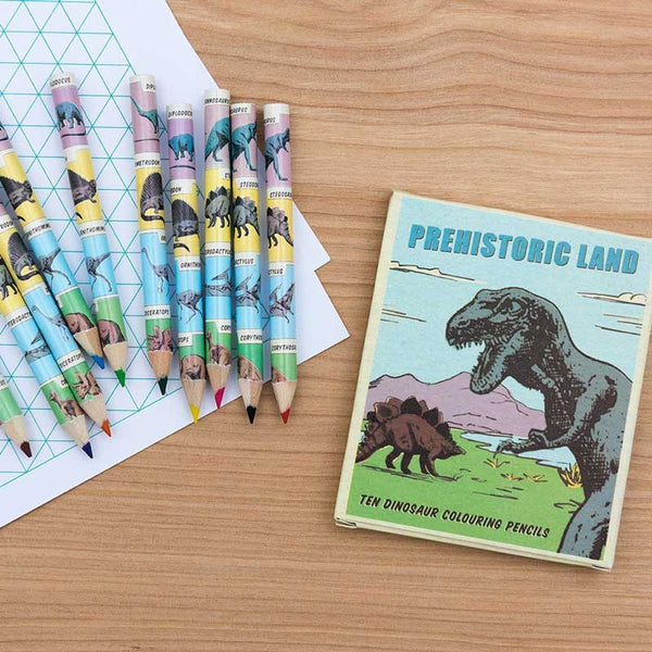 Rex London Dinosaur Pencils
