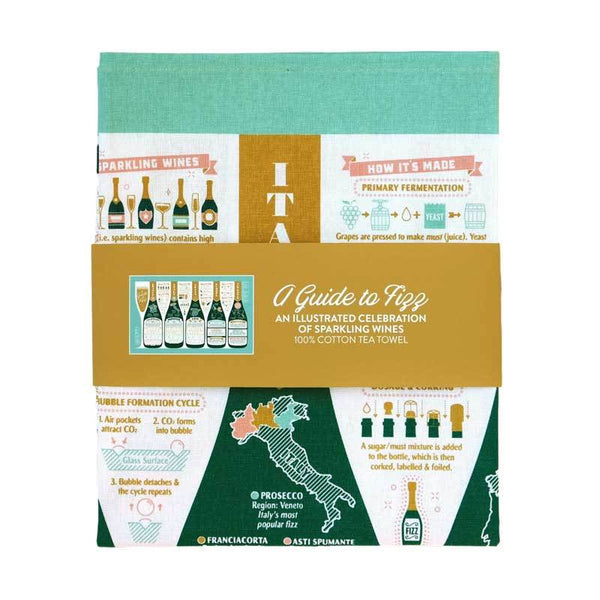 Stuart Gardiner A Guide To Fizz Towel