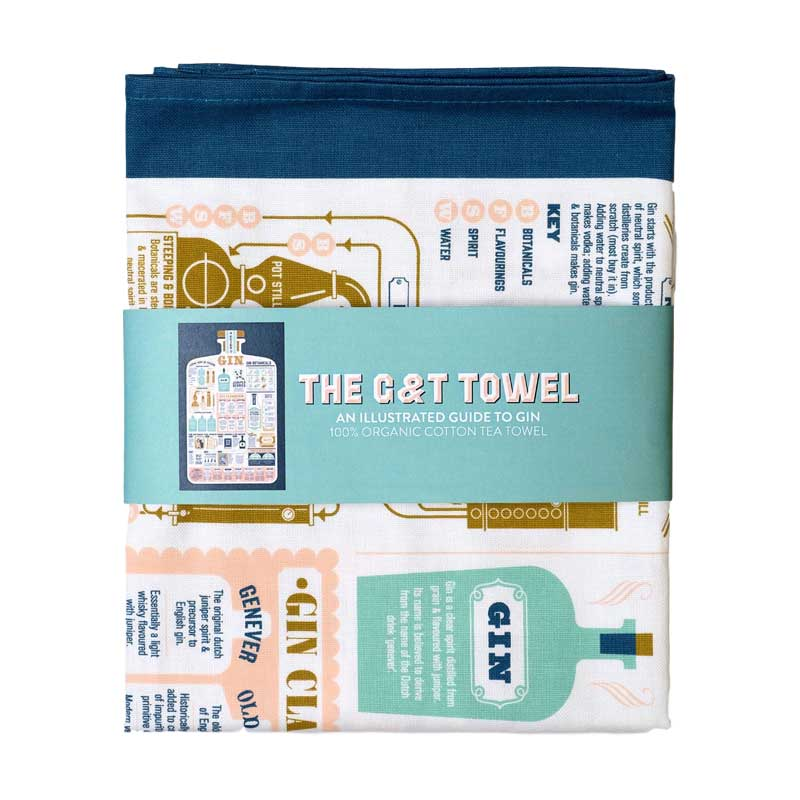 Stuart Gardiner Gin and Tonic Towel