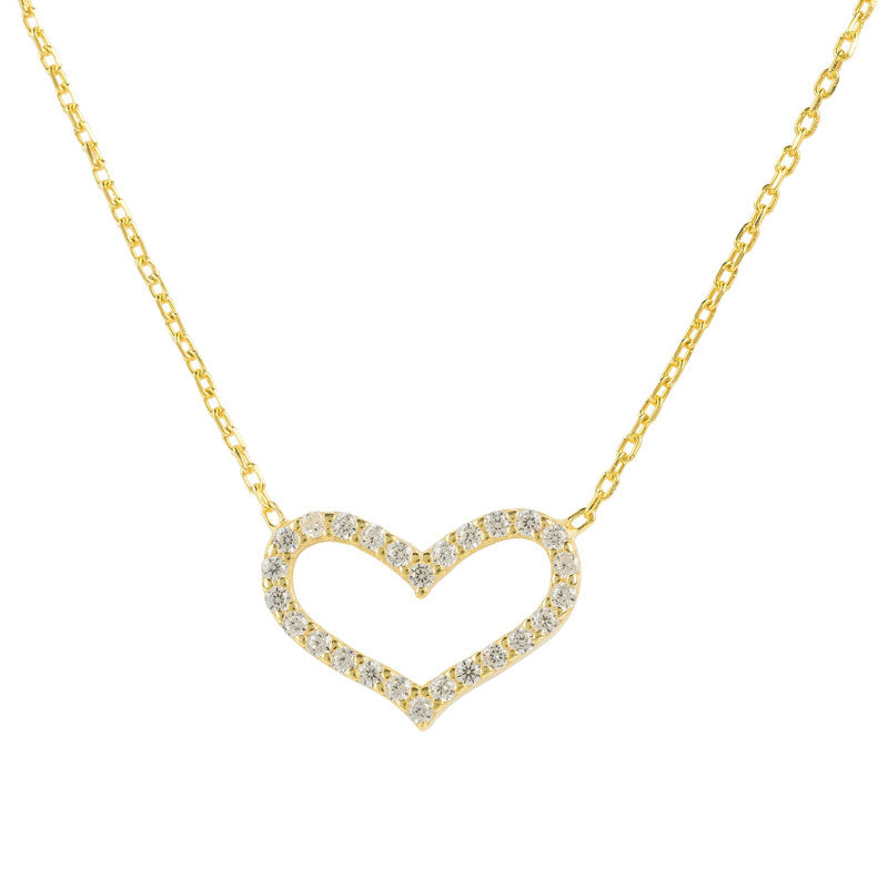 Latelita Love Heart Necklace (Gold)