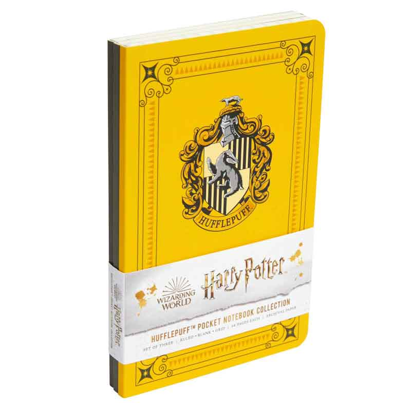 Harry Potter Hufflepuff Pocket Notebooks