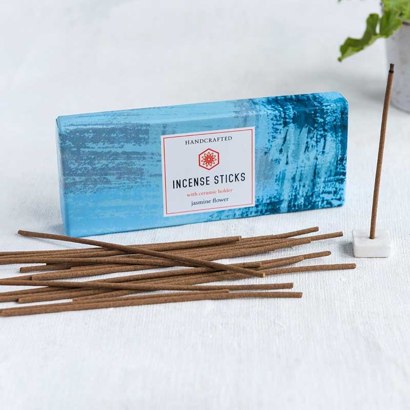 Rex London Jasmine Incense Sticks And Holder