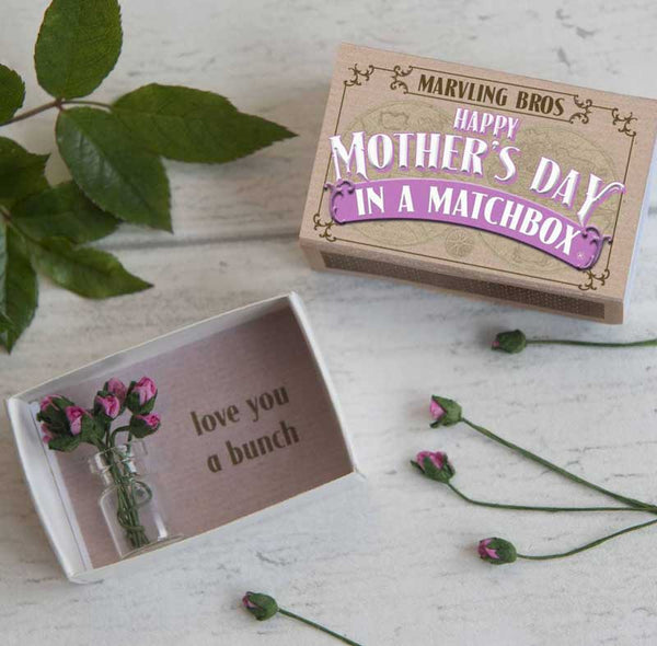 Marvling Bros Happy Mother's Day in a Matchbox