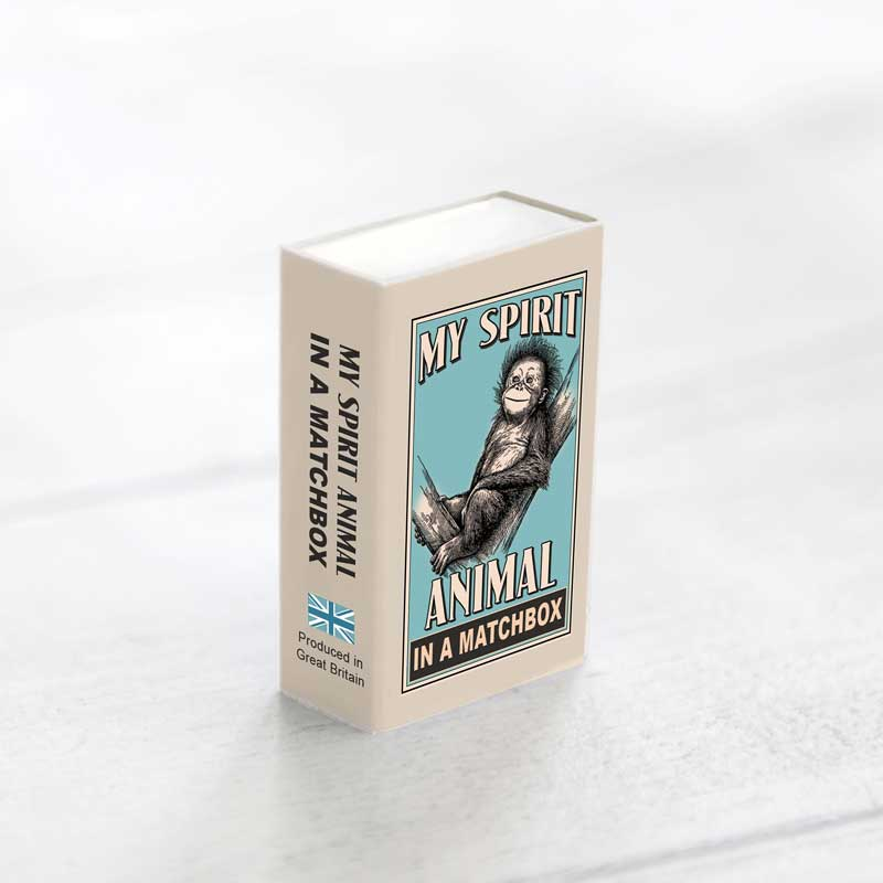 Marvling Bros Orangutan Spirit Animals In A Matchbox