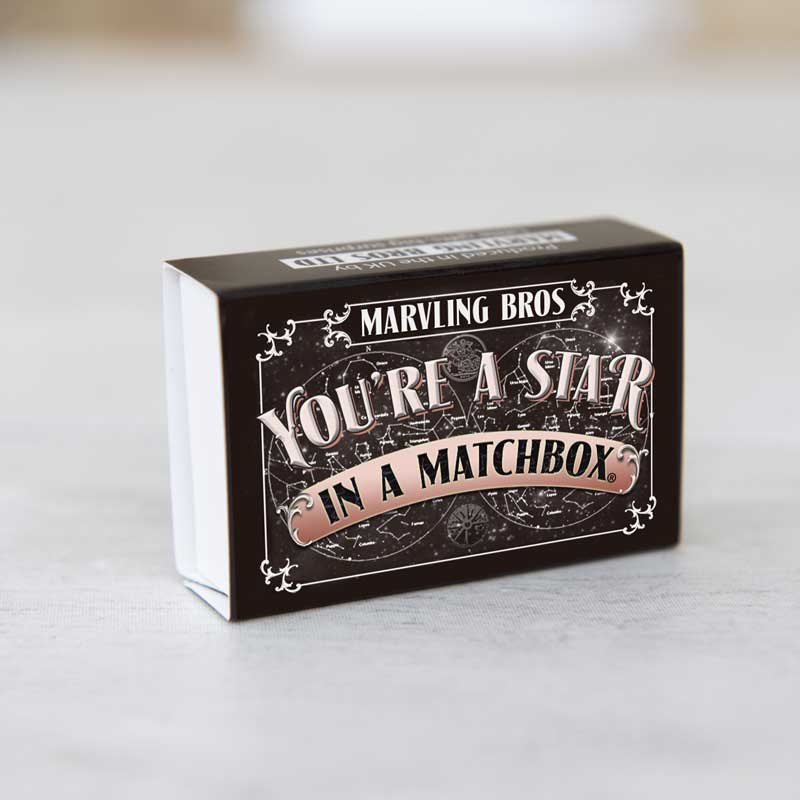 Marvling Bros You're A Star in a Matchbox