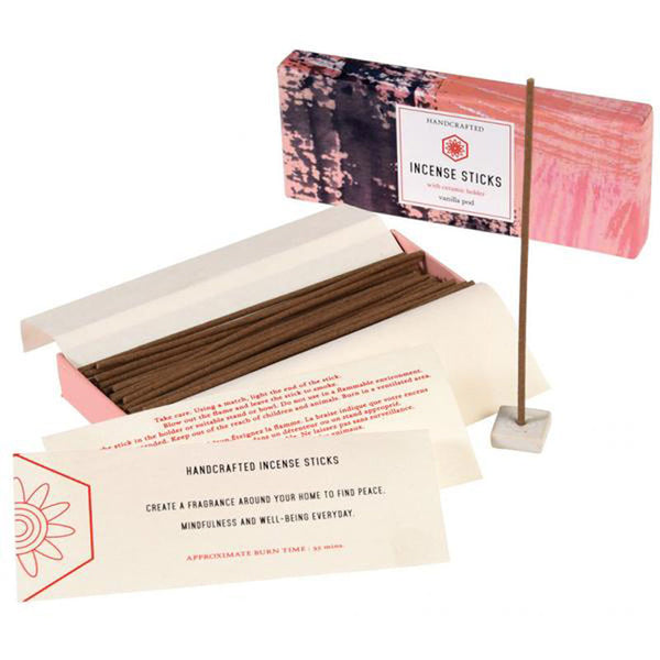 Rex London Vanilla Incense Sticks And Holder