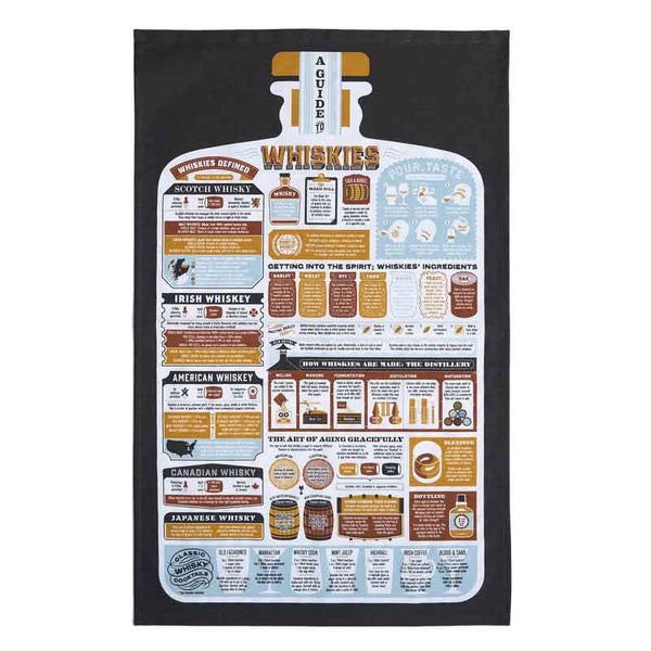 Stuart Gardiner A Guide to Whiskies Towel