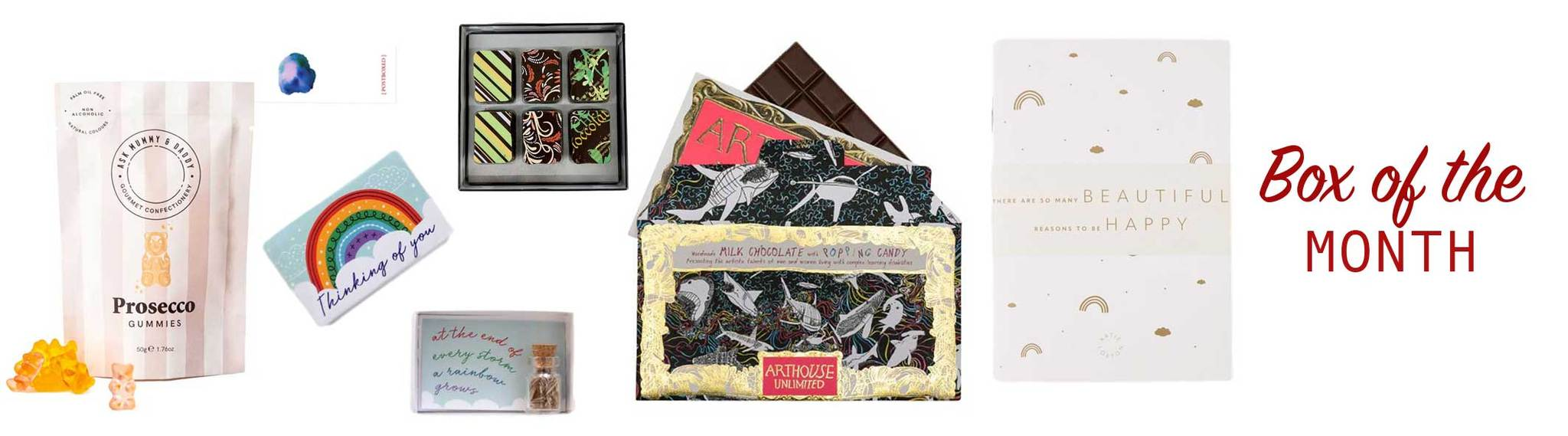 Postboxed Gift Box Of The Month
