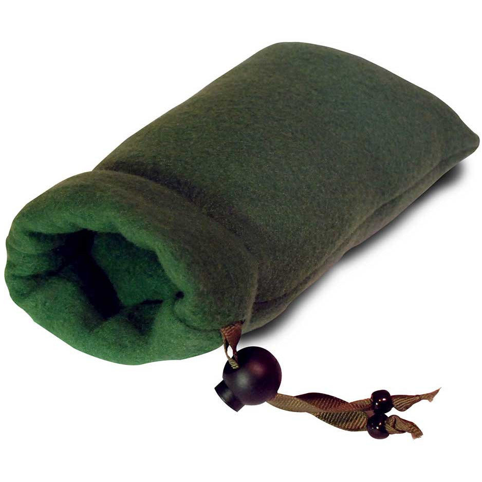 "7"" Padded Fleece Pipe Pouch - Green - Green Goddess Supply"