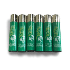 Refillable Lighter 6-Pack - Green Goddess Supply