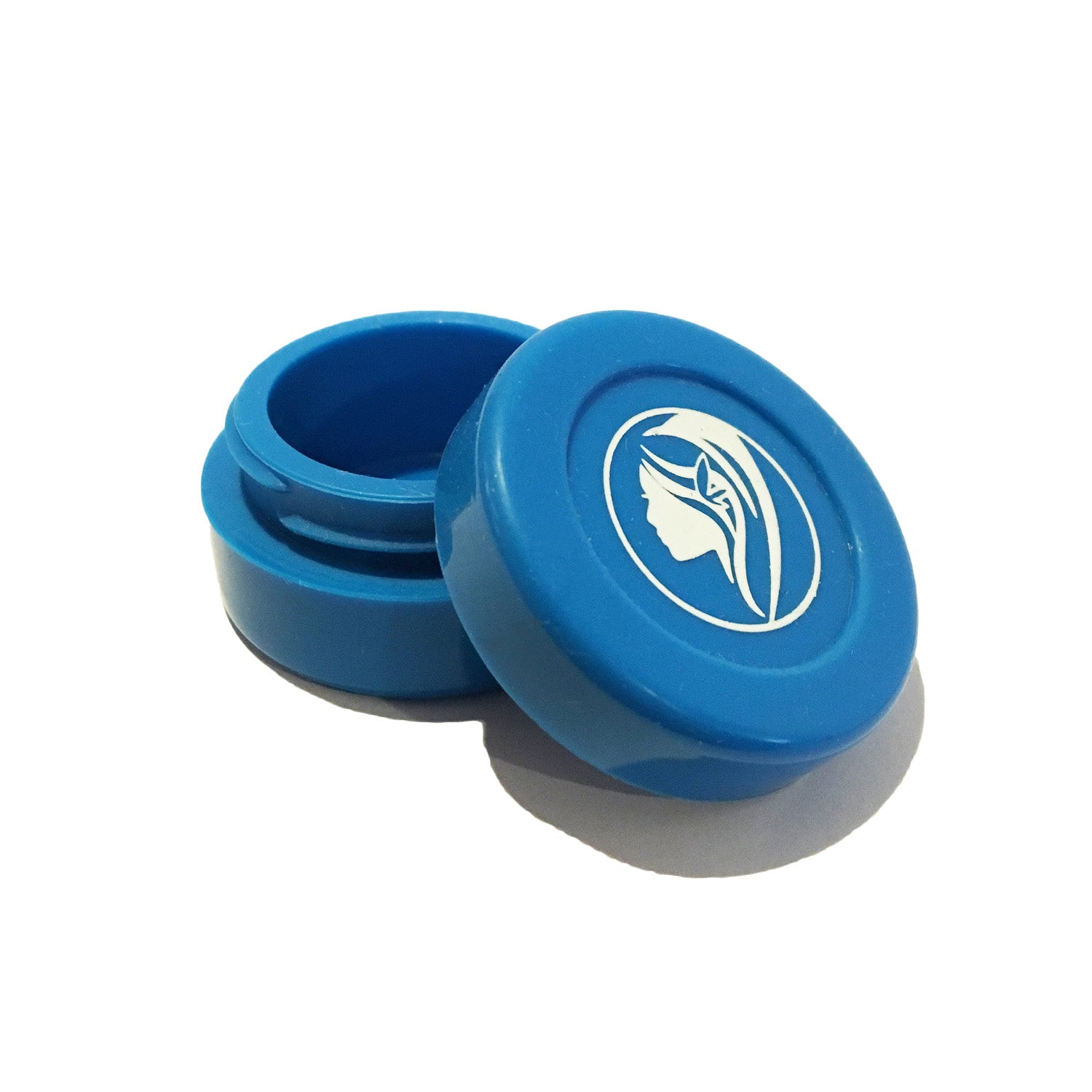 Non-Stick Silicone Wax Jar - Blue - Green Goddess Supply