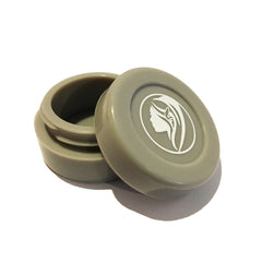 Non-Stick Silicone Wax Jar - Gray - Green Goddess Supply