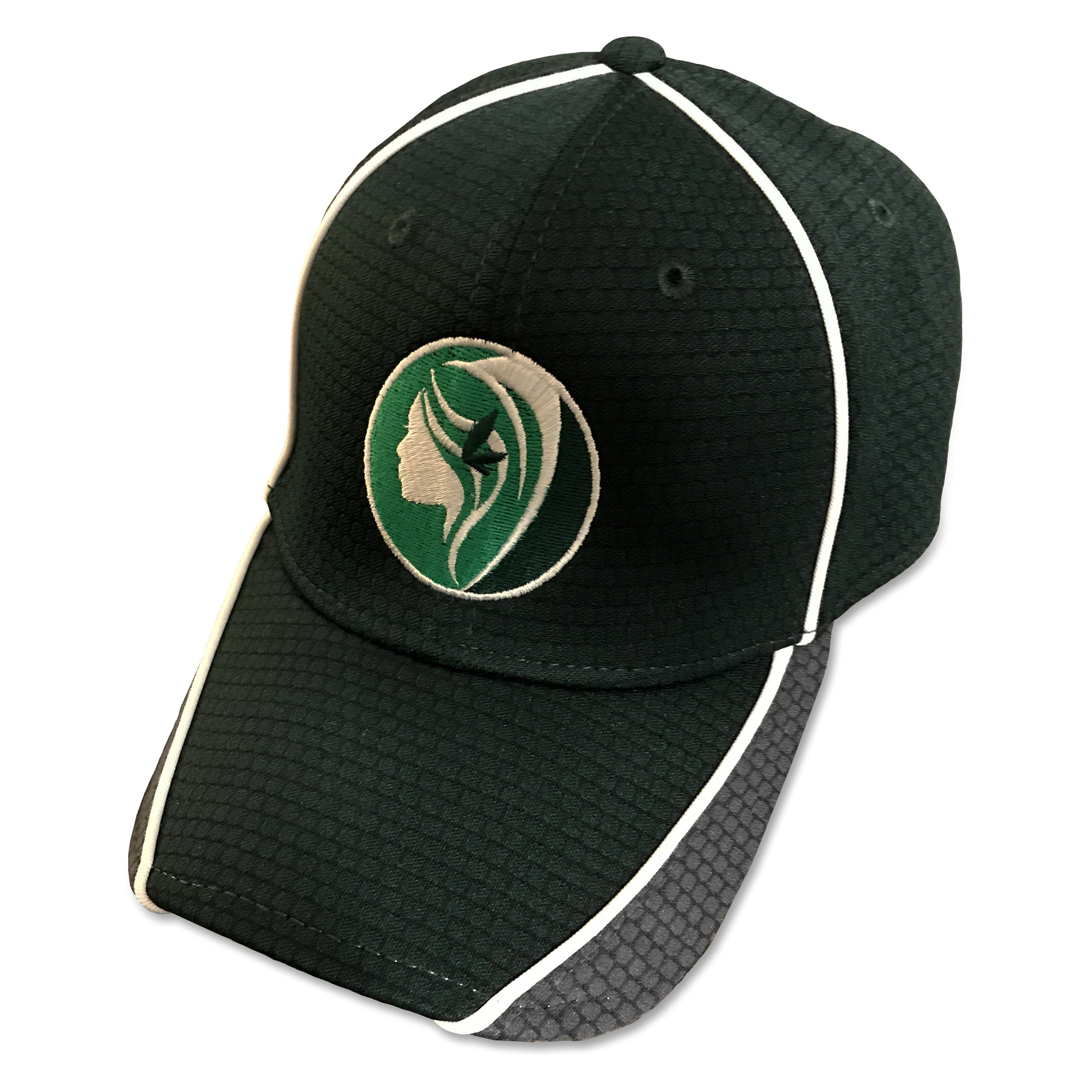 Logo Baseball Hat - Stretch Fit New Era Premium Ball Cap - Green Goddess Supply