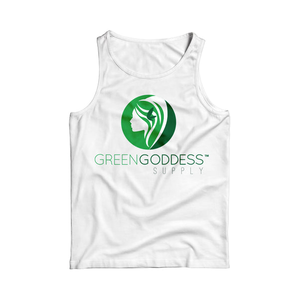 Women's Logo Tank Top Shirt - White