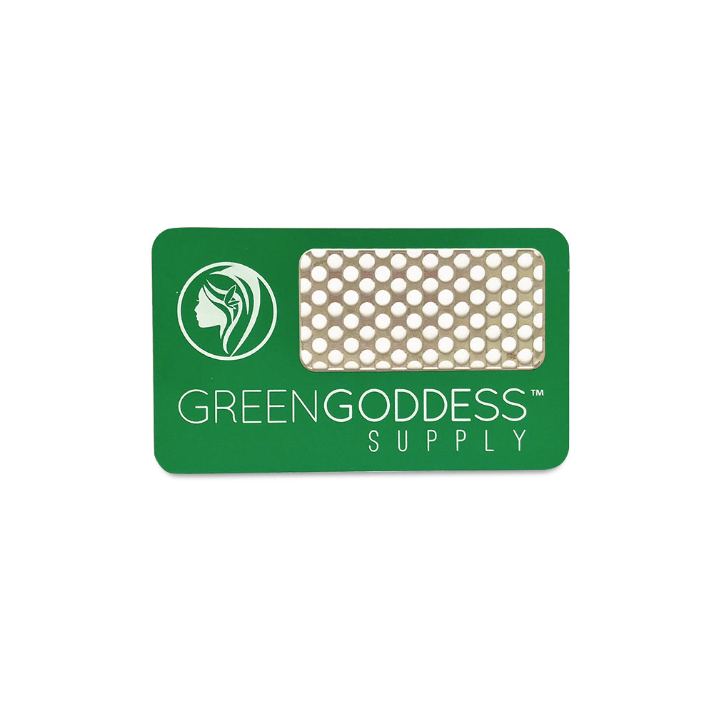 Grinder Card - Green Goddess Supply