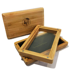 Medium Bamboo Pollen Sifter Box - Green Goddess Supply