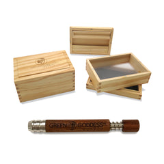 Got Wood PACKAGE - Pine Box and Wood Bat - Green Goddess Supply