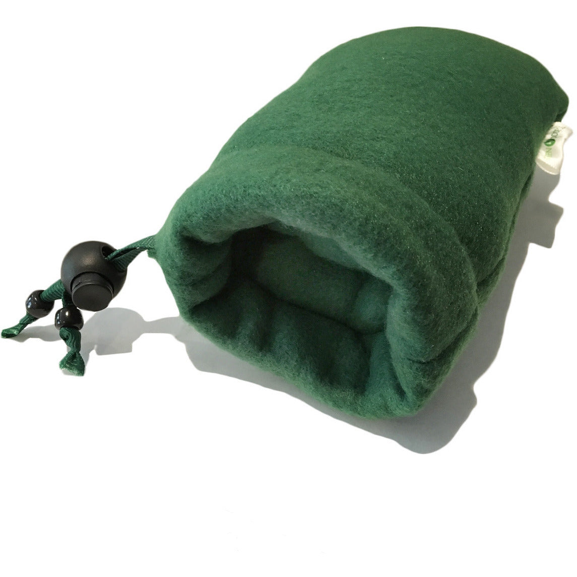 7 Padded Fleece Pipe Pouch - Green
