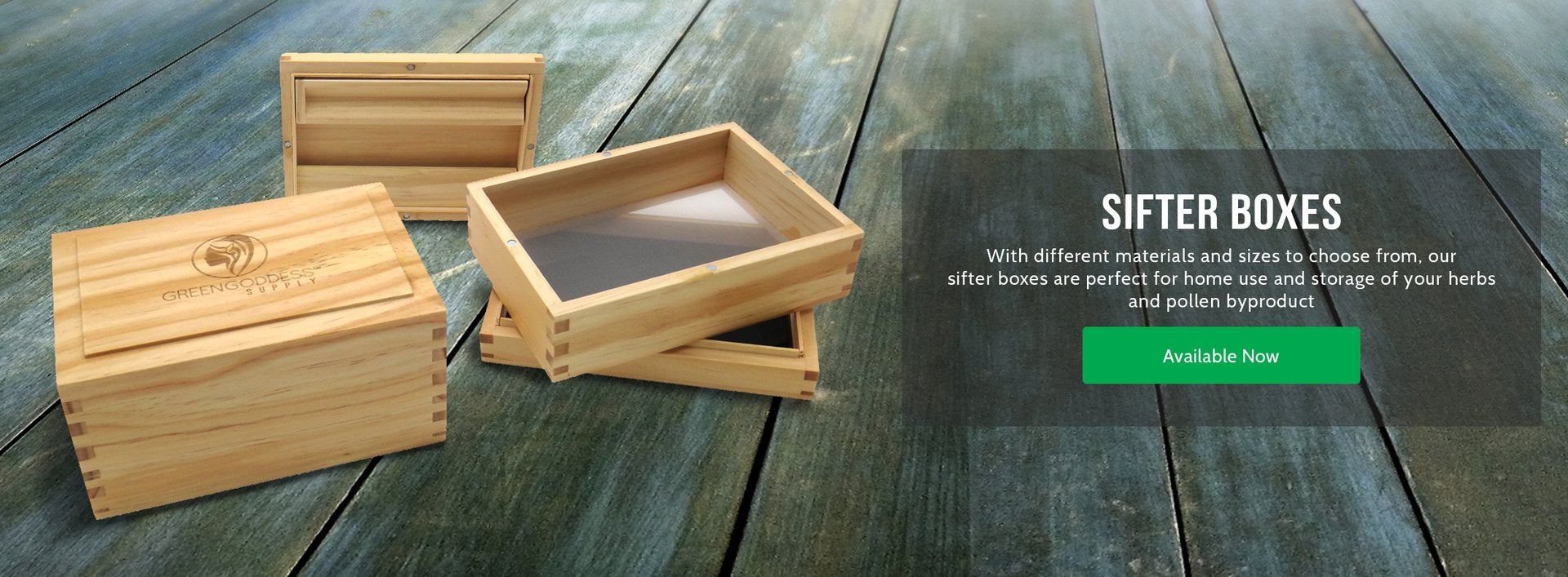Sifter Boxes