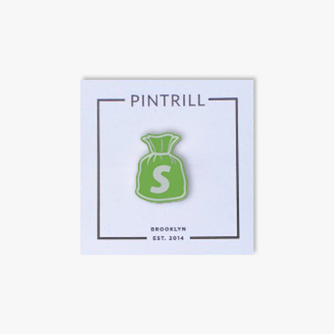 Shopify x Pintrill - Money Bags Pin