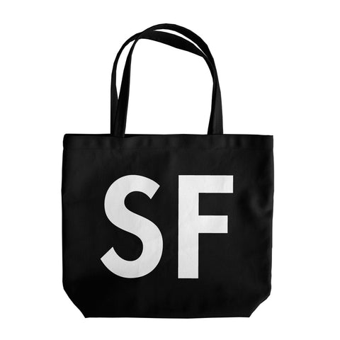 Black SF Shop Tote