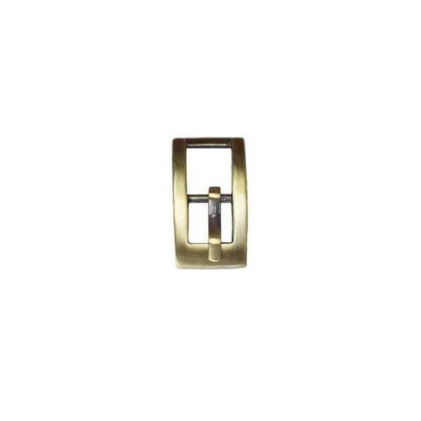 "3/8"" Mini Rectangle Center Bar Buckle (BO111)"