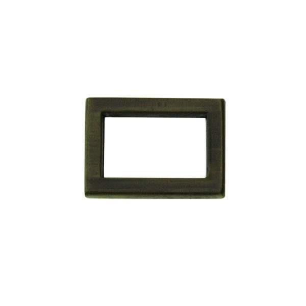 "1/2"" Mini Square Ring Single Loop Slider (PD016)"