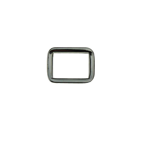 "5/8"" Rounded Square Ring Single Loop Slider (PD093)"