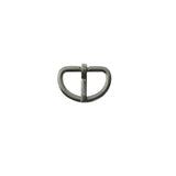 "1/2"" Mini D Heel Bar Buckle (BO196)"