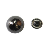 "5/8"" Pointed Semi Circle Double Cap Rivet / Stud (PE059)"