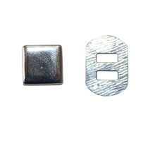 "3/8"" Flat Square Prong Rivet / Stud (PE184)"
