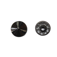 "1/2"" Flat Pointed Circular Double Cap Rivet / Stud (PE197)"