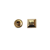 "3/8"" Lifted Square Double Cap Rivet / Stud (PE378)"