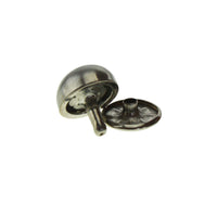 "1/2"" Semi Circle Double Cap Rivet / Stud (PE296)"