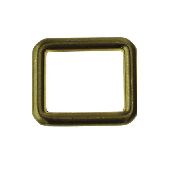 "1"" Square Ring Single Loop Slider (PD211)"