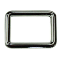 "1.25"" Square Ring Single Loop Slider (PD213)"