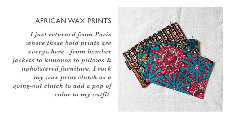 Clover Loves - African Wax Prints