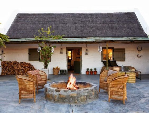 Malawi chairs around firepit