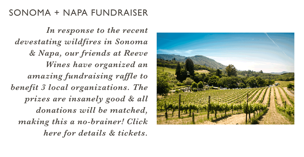 Reeve Wines Fundraiser
