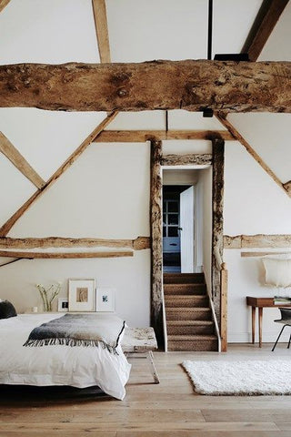 Throw over foot of bed - House & Garden Magazine UK