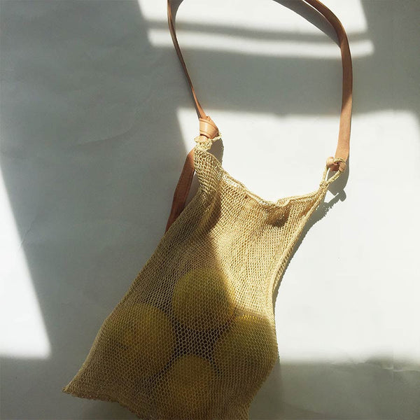 Agave String Bag in Natural