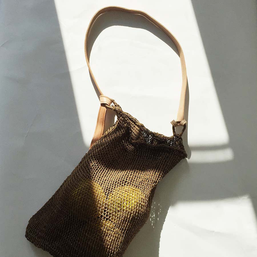 Agave String Bag - Smoked