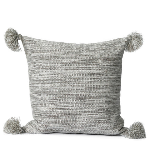 Alpaca Pillow III - Heather brown