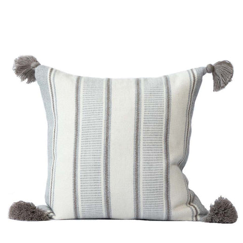 Alpaca Pillow II - Multi Stripe