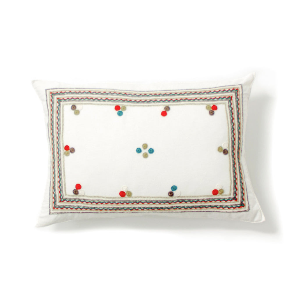 Chiapas Embroidered Pillow II