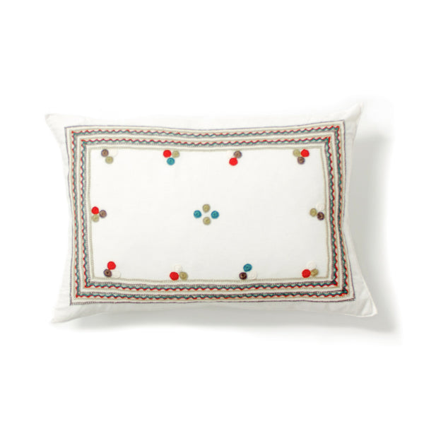 Chiapas Embroidered Pillow II from El Camino de Los Altos